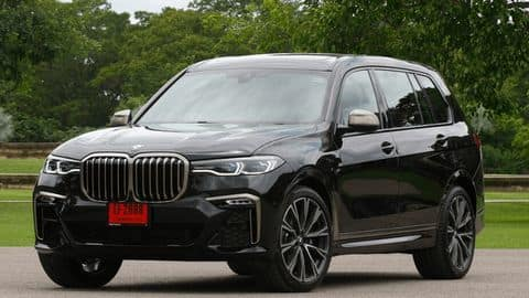 BMW X7 M50d launched in India at Rs. 1.63 crore