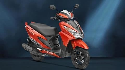 BS6 Honda Grazia launched in India at Rs. 73,340