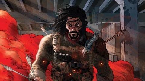 Keanu Reeves excites fans with BRZRKR comic book teaser clip