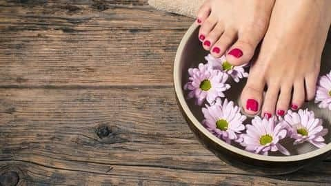 How you can take care of your feet at home