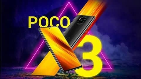 POCO X3 to be launched in India on September 22