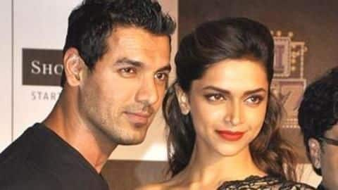 It also stars Deepika Padukone and John Abraham