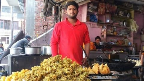 This village boy cracked GATE while working at 'pakora' shop