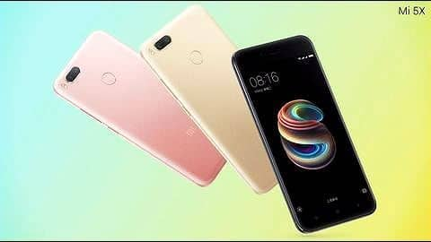 Xiaomi launches dual-camera Mi 5X and MIUI 9