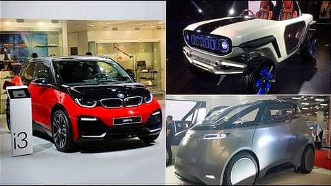 Top 7 electric cars showcased at Auto Expo 2018