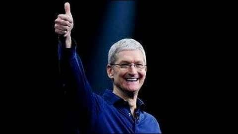 Apple boss Tim Cook's earnings this year