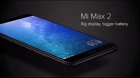 Xiaomi Mi Max 2 launched at Rs. 16,999