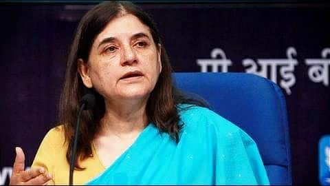 Maneka Gandhi on children separated from jailed mothers