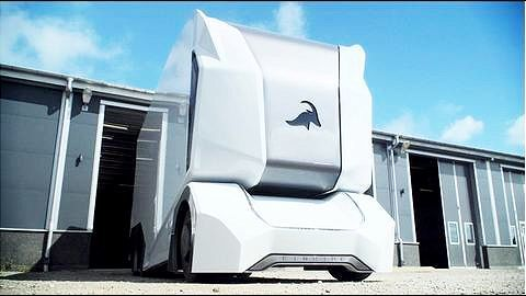 Swedish start-up Einride unveils futuristic driverless electric truck