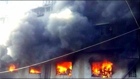 Juhu Building Fire: 2-year-old daughter saved us, says laborer's wife