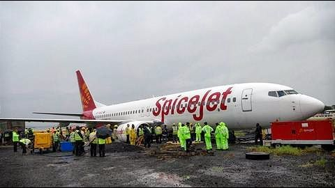 SpiceJet aircraft skidding incident at Mumbai Airport