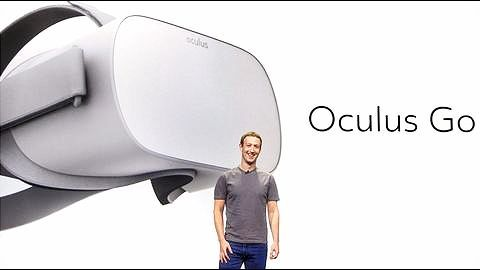 """Oculus VR Conference: New $199 """"Oculus Go"""" headset unveiled"""