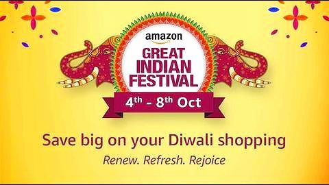 Get ready for Amazon India's second Great Indian Festival sale!