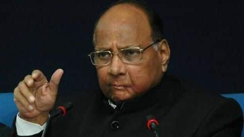 Sharad Pawar blames BJP for defection of NCP leaders