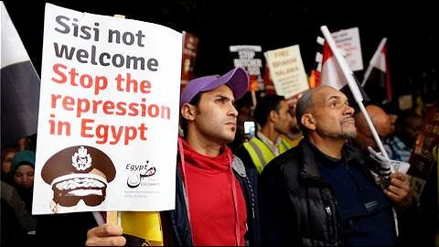 The US's concerns about human rights in Egypt