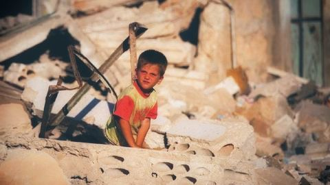 Lost children of Syria - Victims of war