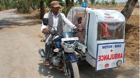 Chhattisgarh: This IAS officer launched 'bike ambulances' for remote villages