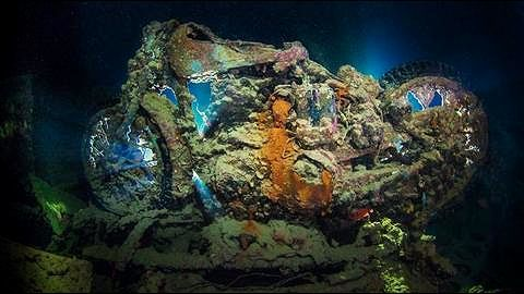 About the British freighter SS Thistlegorm