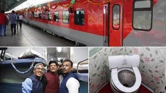 The amazing features of new Mumbai-Delhi Rajdhani Express