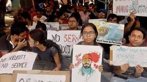 WB: Doctors not resuming work, to continue strike for sixth-day