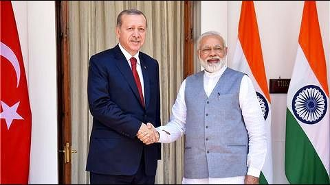 Turkish President Erdogan's India visit