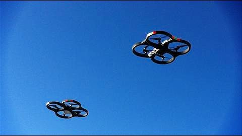 Chinese drone formation world record