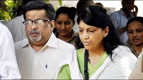 Rajesh-Nupur Talwar attend to patients at Dasna prison