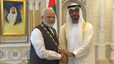 PM Modi conferred with 'Order of Zayed', UAE's highest civilian-honor