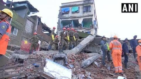 Maharashtra: Building collapses in Bhiwandi; 2 dead, several feared trapped