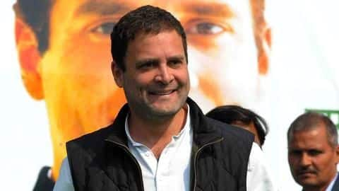 #Elections2019: Congress President Rahul Gandhi files nomination from Amethi
