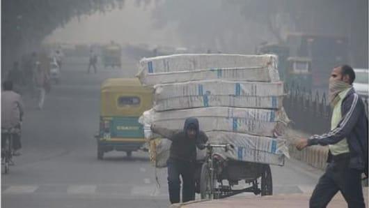 Delhi's air quality turns 'severe': Authorities