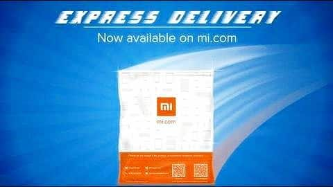 Xiaomi India launches Express service for one-day deliveries