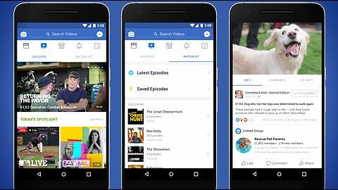 It's official! Facebook launches TV-like video platform 'Watch'