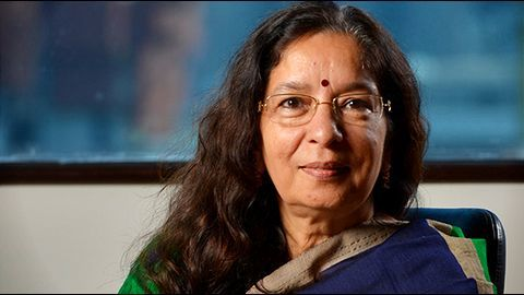 Axis Bank reappoints CEO Shikha Sharma for 3 years