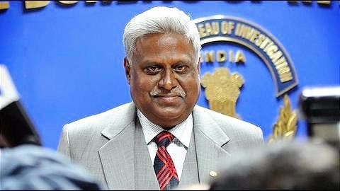 Former CBI Director Ranjit Sinha booked; CBI files case