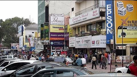 Bengaluru: New malls threateningly tower over old shops in Majestic