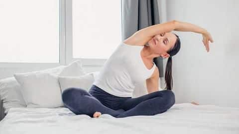 #HealthBytes: Five stretches that will improve your sleep quality