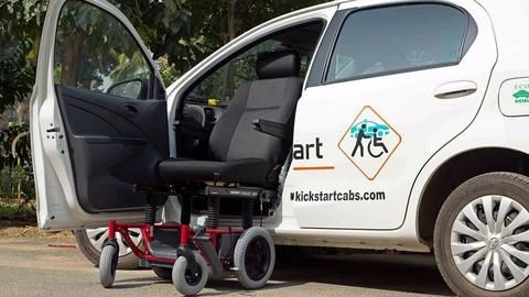 Bengaluru gets disabled-friendly cab service