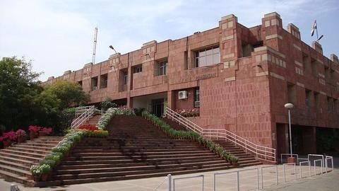 JNU best varsity even among controversies