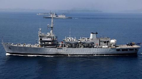 India's first solar powered naval warship