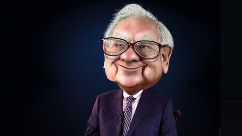 Warren Buffett's scintillating success story