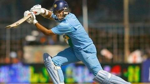 A left-handed batsman by force?