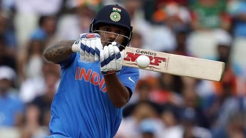 Dhawan becomes the highest scorer for India in Champions Trophy