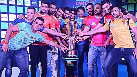 Captains of Pro Kabaddi League