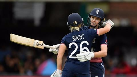 England post a formidable 228 on board
