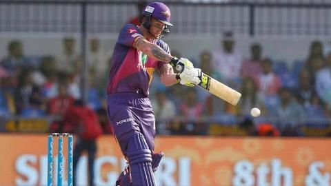 RPS put a target of 164 runs for KXIP