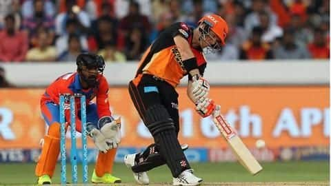 IPL: Warner leads SRH to an easy win over GL