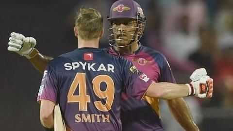Steve Smith leads RPS to 171 runs