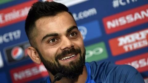Kohli's statement before the tournament