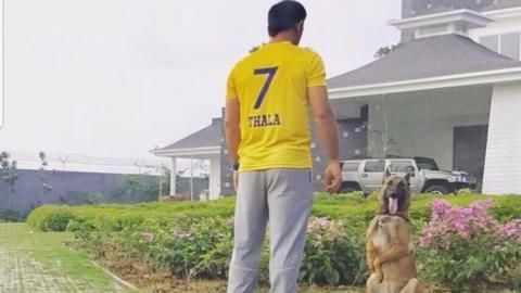 Dhoni welcomes back CSK in his own style